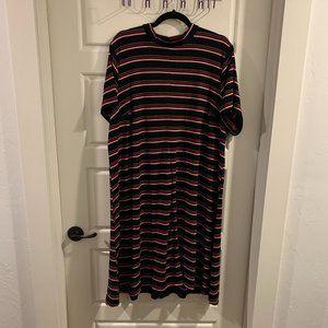 Torrid Striped A-Line Dress, 4